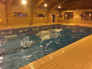 Swim training for triathletes