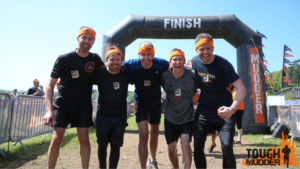 Tough Mudder Finsih Line