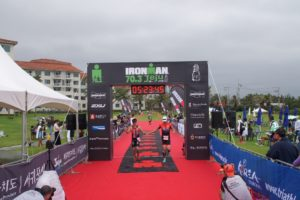 Ironman Jeju 70.3 finish