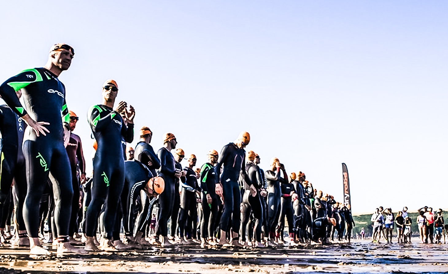 Sea Swim Triathlon Beach Start