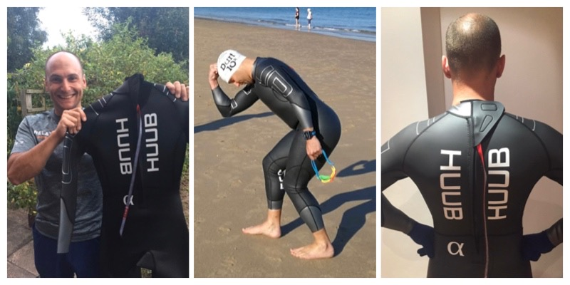 Fit of the HUUB Alpha triathlon wetsuit