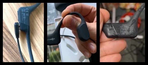 Charging the AfterShokz Aeropex Headphones