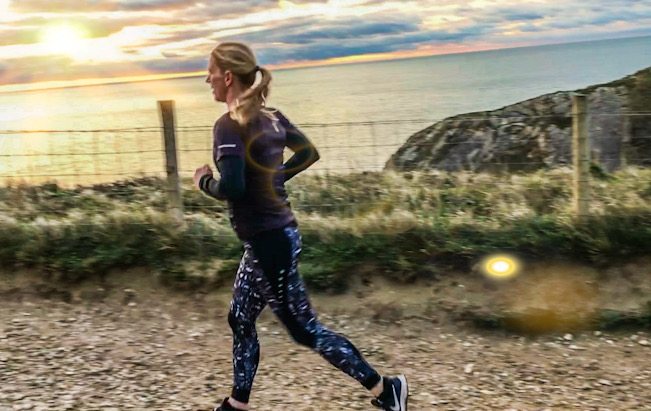 Running with the Zone3 RX3 tights