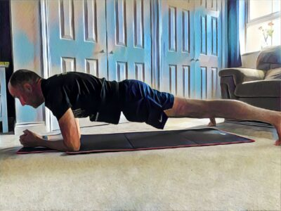 Plank In and Out Core workout for triathletes